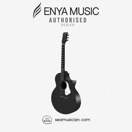 ENYA NOVA G SERIES ACOUSTIC GUITAR COLOR BLACK W/T1 EQ & BAG