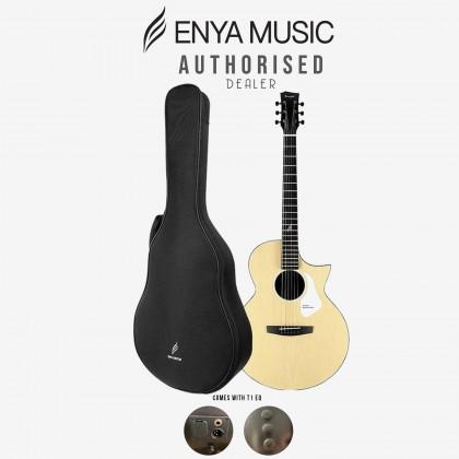 ENYA NOVA G SERIES ACOUSTIC GUITAR COLOR NATURAL W/T1 EQ & BAG