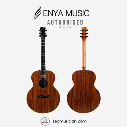 ENYA EA-X1E ACOUSTIC GUITAR 41 ICNH PACKAGE (W/EQ) COMES WITH ACCESSORIES & BAG
