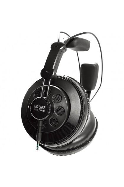 SUPERLUX HD668B PROFESSIONAL STUDIO HEADPHONE WITH POWERFUL BASS