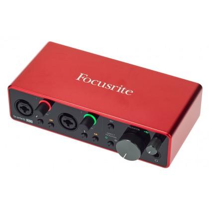 FOCUSRITE SCARLETT 2i2 STUDIO PACK 3RD GEN RECORDING BUNDLE