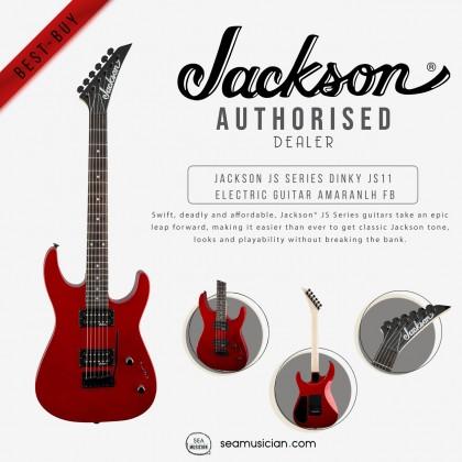 JACKSON JS SERIES DINKY JS11 ELECTRIC GUITAR AMARANTH FRETBOARD, COLOR METALIC RED 2910121552