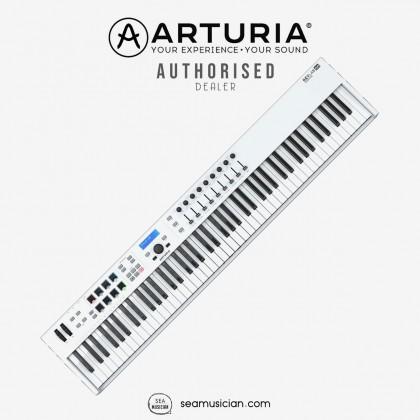 ARTURIA KEYLAB ESSENTIAL 88 KEYS MIDI KEYBOARD CONTROLLER COLOR WHITE 230541