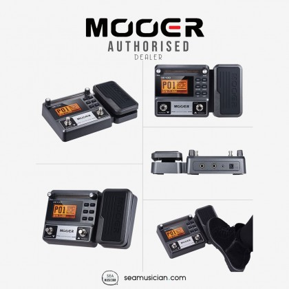 MOOER GE100 GUITAR MULTI FX EFFECTS PROCESSOR EFFECT PEDAL WITH LOOP RECORDING COMES WITH POWER ADAPTER