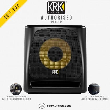 KRK KRK10S ROKIT POWERED 10-INCH ACTIVE STUDIO SUBWOOFER