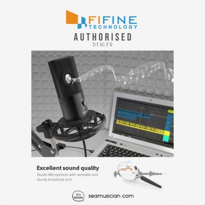 FIFINE T669 USB STUDIO CONDENSER MICROPHONE KIT FOR VOCAL RECORDING AND INSTRUMENT