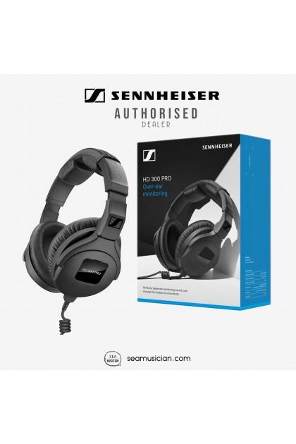 SENNHEISER HD300 PRO CLOSED-BACK STUDIO MONITORING HEADPHONES