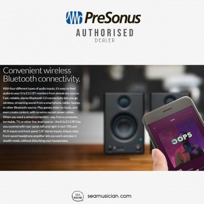 PRESONUS ERIS E3.5 BT STUDIO MONITORS BLUETOOTH PAIR