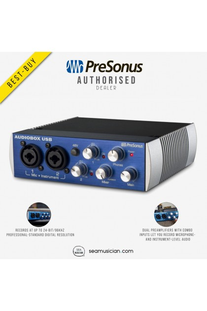 PRESONUS AUDIOBOX USB 96 USB AUDIO INTERFACE