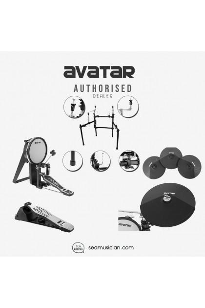 AVATAR SD201-1 DIGITAL DRUM MESH HEAD SET COMES WITH DRUM THRONE