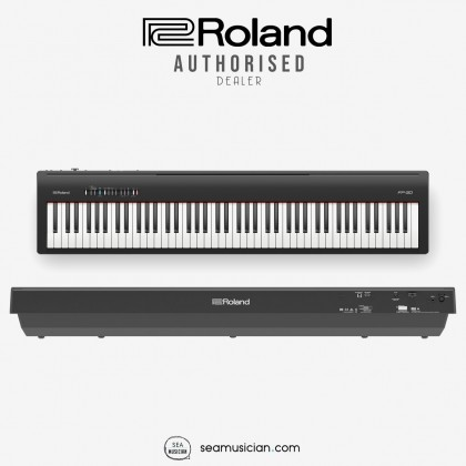 ROLAND FP 30 88-KEY DIGITAL PIANO WITH SUSTAIN PEDAL COLOR BLACK