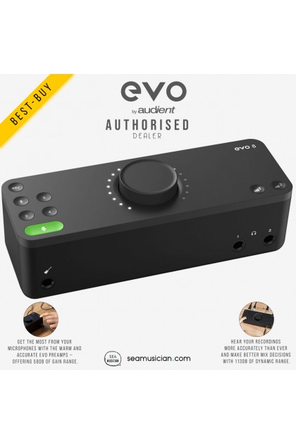 AUDIENT EVO 8 USB AUDIO INTERFACE