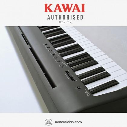 KAWAI ES SERIES ES110 MUSICIAN DIGITAL PORTABLE PIANO 88 KEYS WITH BENCH HEADPHONE & STAND (MII) BLACK
