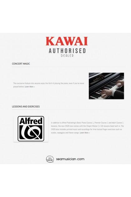 KAWAI CN SERIES CN29 DIGITAL PIANO 88 KEYS W/BENCH & HEADPHONE (MII) ROSEWOOD