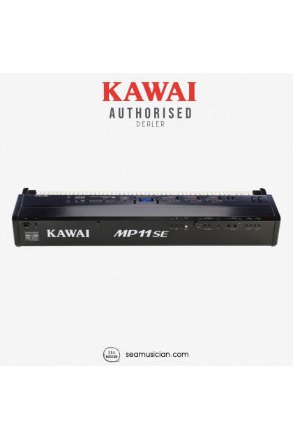 KAWAI MP SERIES MP11SE DIGITAL PIANO 88 KEYS W/PORTABLE STAND BENCH & HEADPHONE BLACK