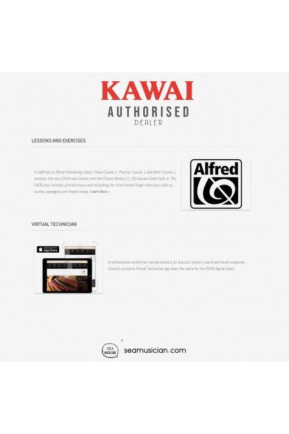 KAWAI CN SERIES CN39 DIGITAL PIANO 88 KEYS W/BENCH & HEADPHONE (MII) BLACK