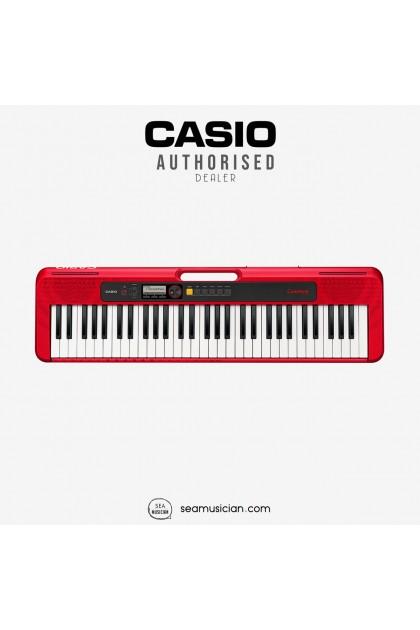 CASIO CT-S200 RED TONE 61 KEYS PORTABLE KEYBOARD