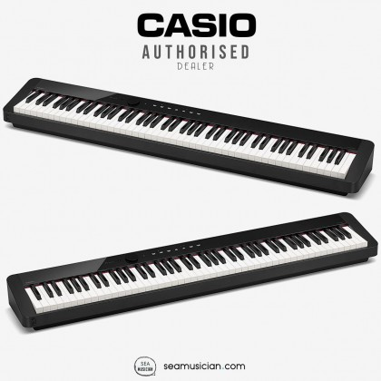 CASIO PRIVIA PX-S1000 88 KEYS DIGITAL PIANO COLOR BLACK WITH STAND & PEDAL