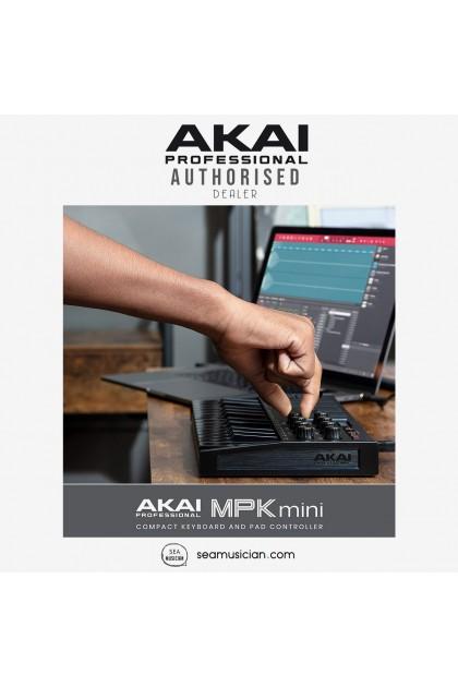 AKAI MPK MINI MK3 25-KEY COMPACT KEYBOARD CONTROLLER BLACK