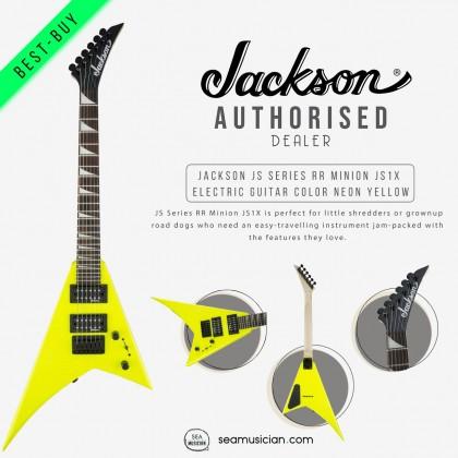 JACKSON JS SERIES RR MINION JS1X ELECTRIC GUITAR COLOR NEON YELLOW 2913334504