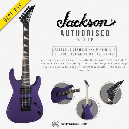 JACKSON JS SERIES DINKY MINION JS1X ELECTRIC GUITAR COLOR PAVO PURPLE 2912223552
