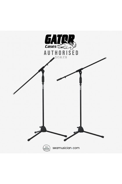GATOR ROK-IT TRIPOD MICROPHONE STAND WITH FIXED BOOM ARM