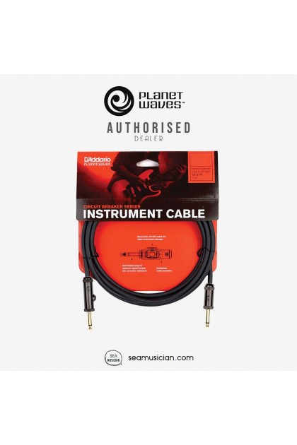 PLANET WAVES PW-AG-20 CIRCUIT BREAKER INSTRUMENT CABLE 20 FT