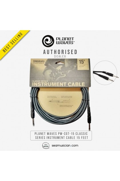 PLANET WAVES PW-CGT-15 CLASSIC SERIES INSTRUMENT CABLE 15 FEET