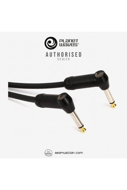 PLANET WAVES PW-AMSGRA-10 AMERICAN STAGE INSTRUMENT CABLE DUAL RIGHT ANGLED 10 FEET