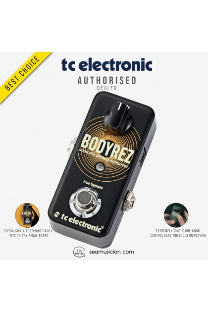 TC ELECTRONIC BODYREZ ACOUSTIC PICKUP ENHANCER GUITAR PEDAL 000-DD101