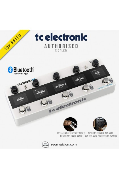 TC ELECTRONIC PLETHORA X5 TONEPRINT MULTI EFFECTS PEDAL BOARD 000-D9M00