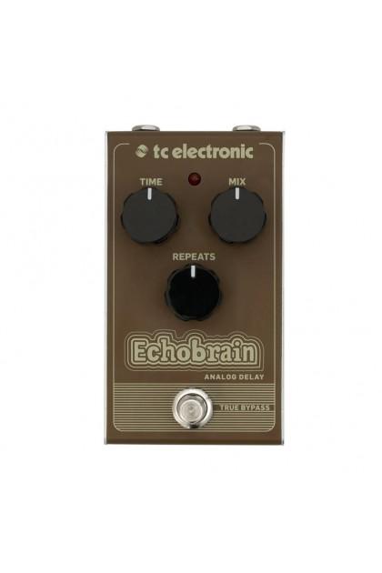 TC ELECTRONIC ECHOBRAIN ANALOG DELAY EFFECT PEDAL 000-CBE00