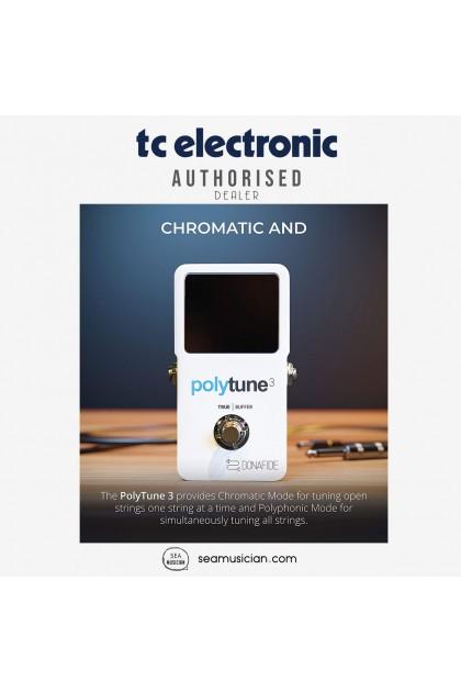 TC ELECTRONIC POLYTUNE 3 MINI GUITAR EFFECT PEDAL 000-DHQ00