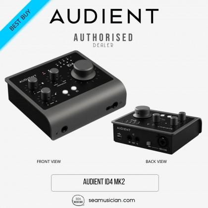 AUDIENT ID4 MK2 HIGH PERFORMANCE USB AUDIO INTERFACE (ID-4 MKII)