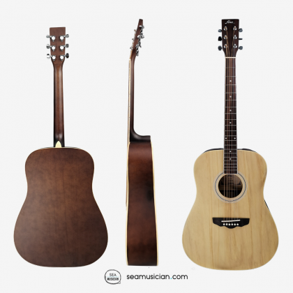 FINA FAW701N 41 INCH ACOUSTIC GUITAR COLOR NATURAL