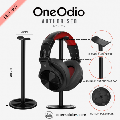 ONEODIO HEADPHONE STAND (HEADSET EARPHONE HOLDER/HEADPHONES STAND/ SUPPORTING BAR FOR HEADSETS DESK DISPLAY)