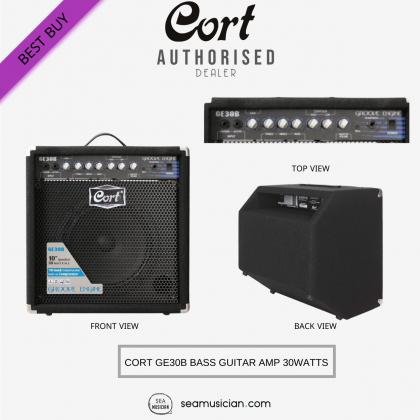 CORT GE30B BASS GUITAR AMPLIFIER 30WATTS (30W/ GE 30B)