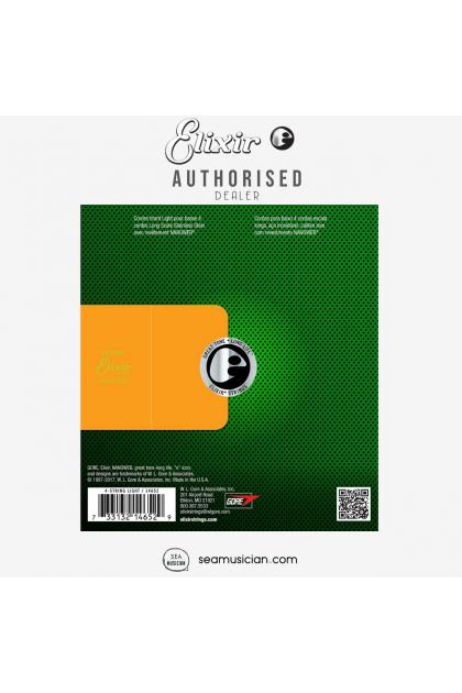 ELIXIR 14652 NANOWEB (045-100) STAINLESS STEEL ELECTRIC BASS STRING