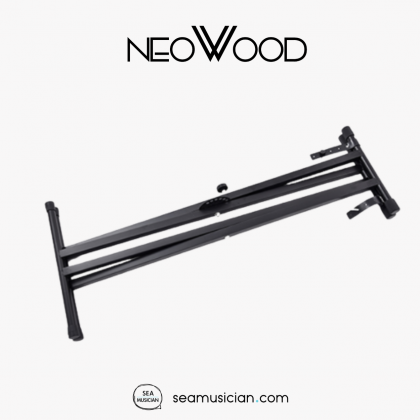 NEOWOOD Q2XC DOUBLE-X HEAVY-DUTY KEYBOARD STAND