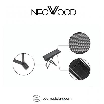 NEOWOOD J46 GUITAR FOOT STOOL