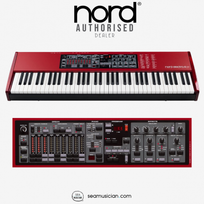 NORD ELECTRO 4 HP HAMMER ACTION PORTABLE STAGE PIANO