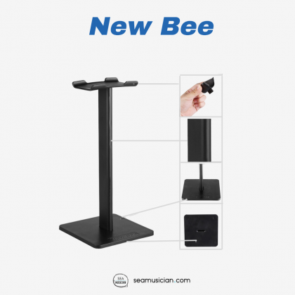 NEW BEE Z1 HEADPHONE STAND, HEADSET HANGER FOR HEADPHONE - BLACK