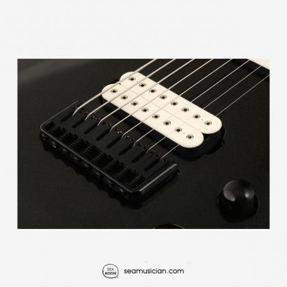 JACKSON PRO DKA8 8-STRING ELECTRIC GUITAR - METALLIC BLACK COLOR