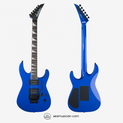 JACKSON X SERIES SOLOIST SLX ELECTRIC GUITAR WITH ROSEWOOD FINGERBOARD - LIGHTNING BLUE COLOR