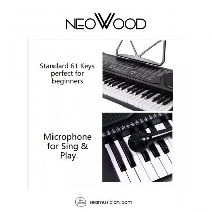 NEOWOOD MK-2089 61KEYS KEYBOARD