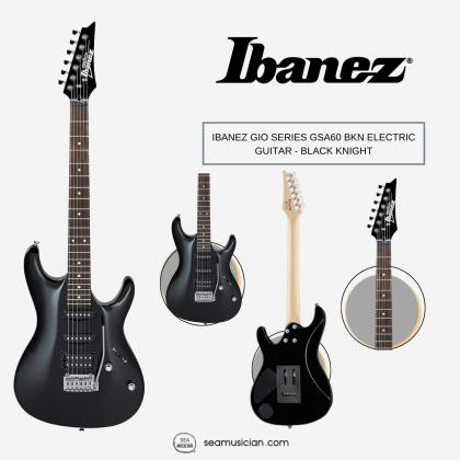 IBANEZ GIO SERIES GSA60 BKN ELECTRIC GUITAR BLACK KNIGHT