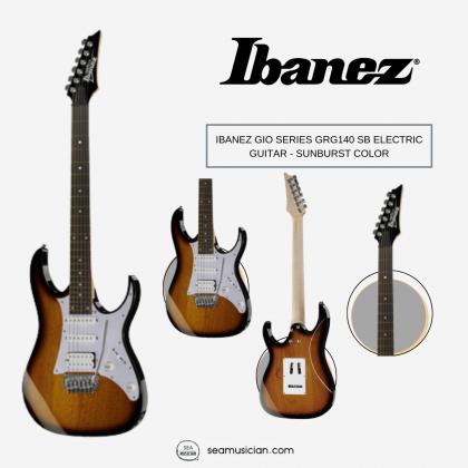 IBANEZ GIO SERIES GRG140 SB ELECTRIC GUITAR - SUNBURST COLOR