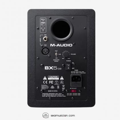 M-AUDIO BX5 D3 5INCH ACTIVE STUDIO MONITOR (EACH)