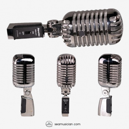 SUPERLUX PROH7F MKII CLASSIC VINTAGE-STYLE SUPERCARDIOID MIC VOCAL MICROPHONE