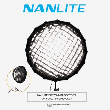 NANLITE ECFZ60 MINI SOFTBOX OF FORZA 60 GRID ONLY